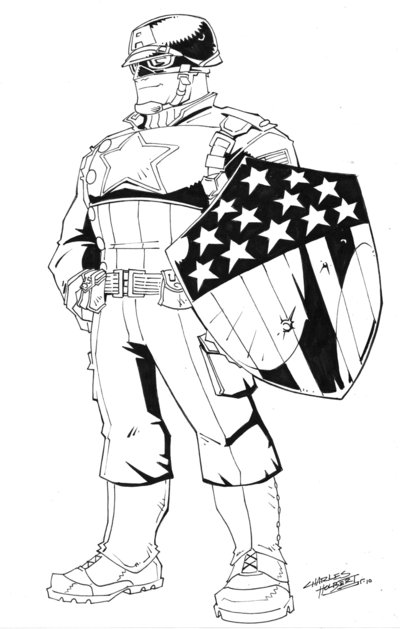 400x629 Wwii Captain America Cs By Kidnotorious