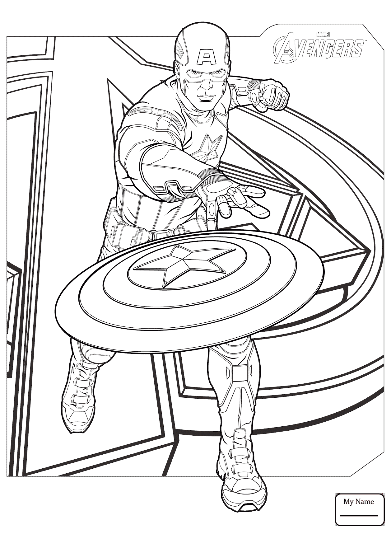 1257x1716 Cartoons Avengers Captain America Marvels The Avengers Coloring