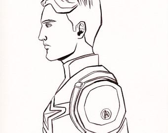 340x270 Captain America Super Hero Etsy