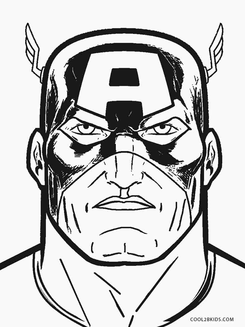 788x1050 Free Printable Captain America Coloring Pages For Kids Cool2bkids