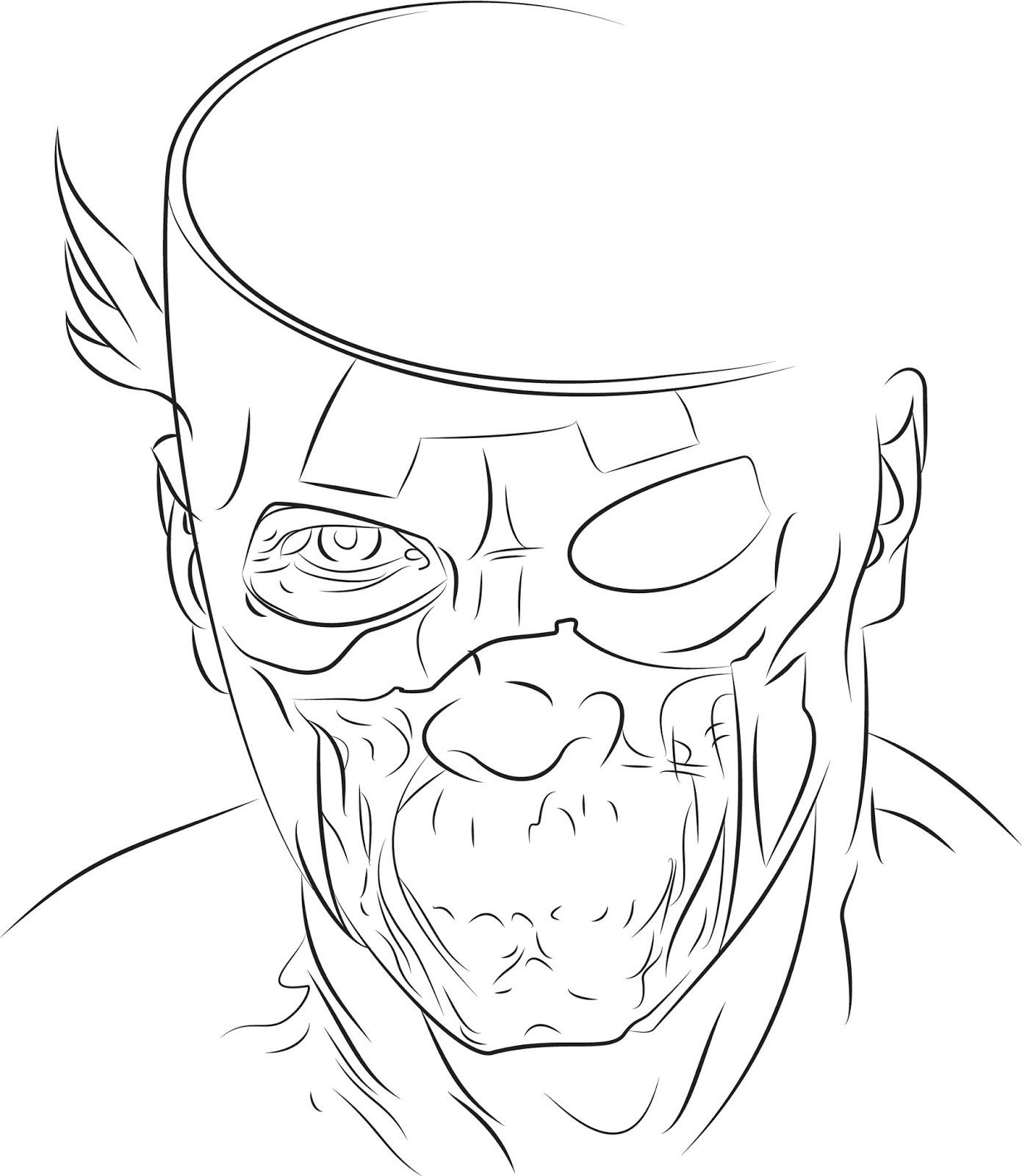 1391x1600 Hastings Illustrations Progress Update! Captain America Zombie