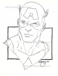 236x310 John Buscema Drawing Of Captain America From The Book To Draw