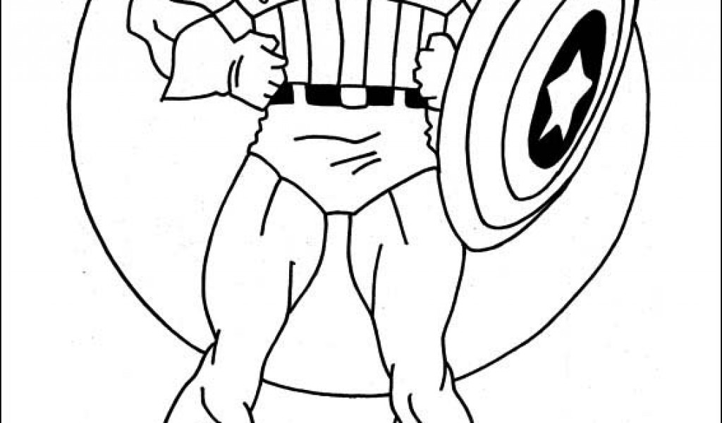 1024x600 Captain America Coloring Pages Free Coloring Pages For Kids