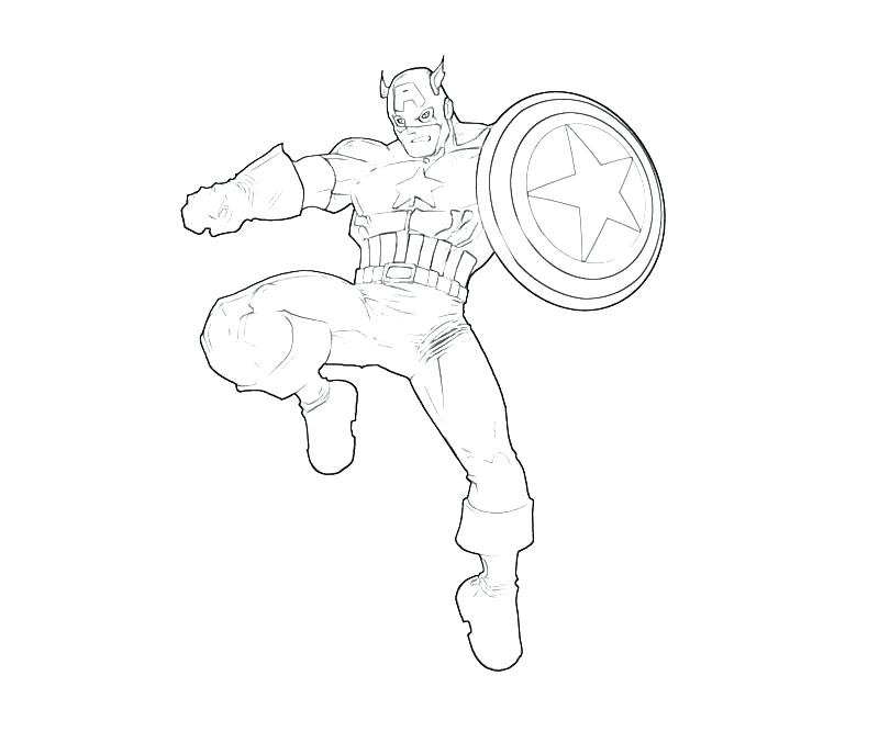 Captain America Shield Drawing At Getdrawings Com Free For