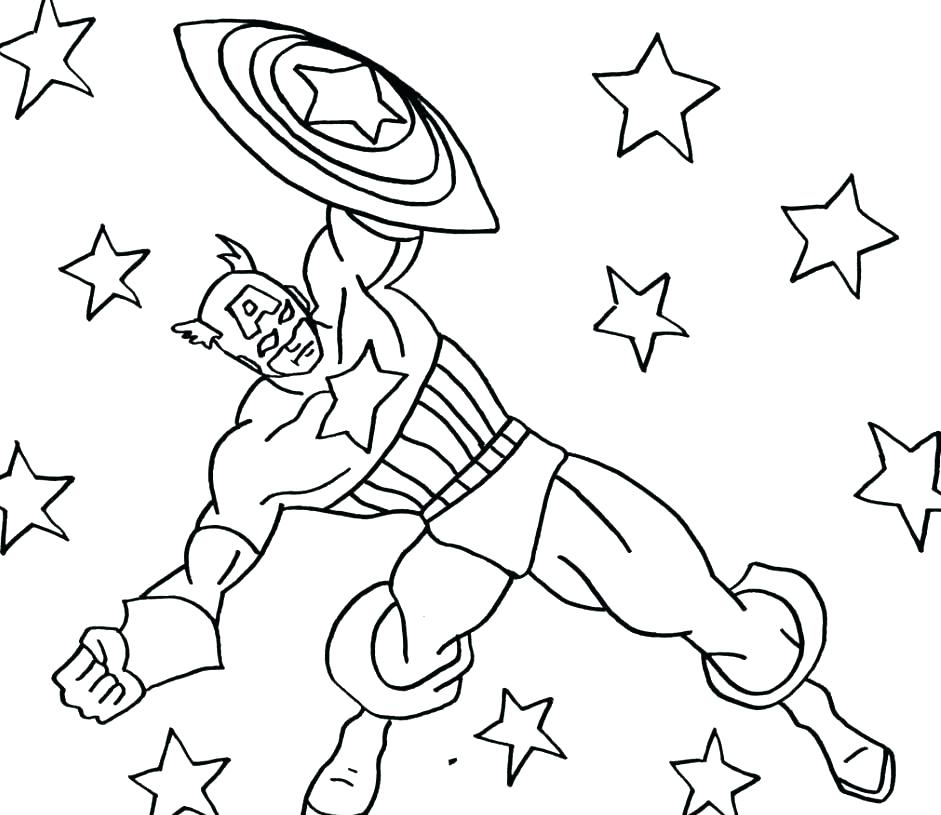941x815 Coloring Pages Captain America Captain Coloring Pages And Book