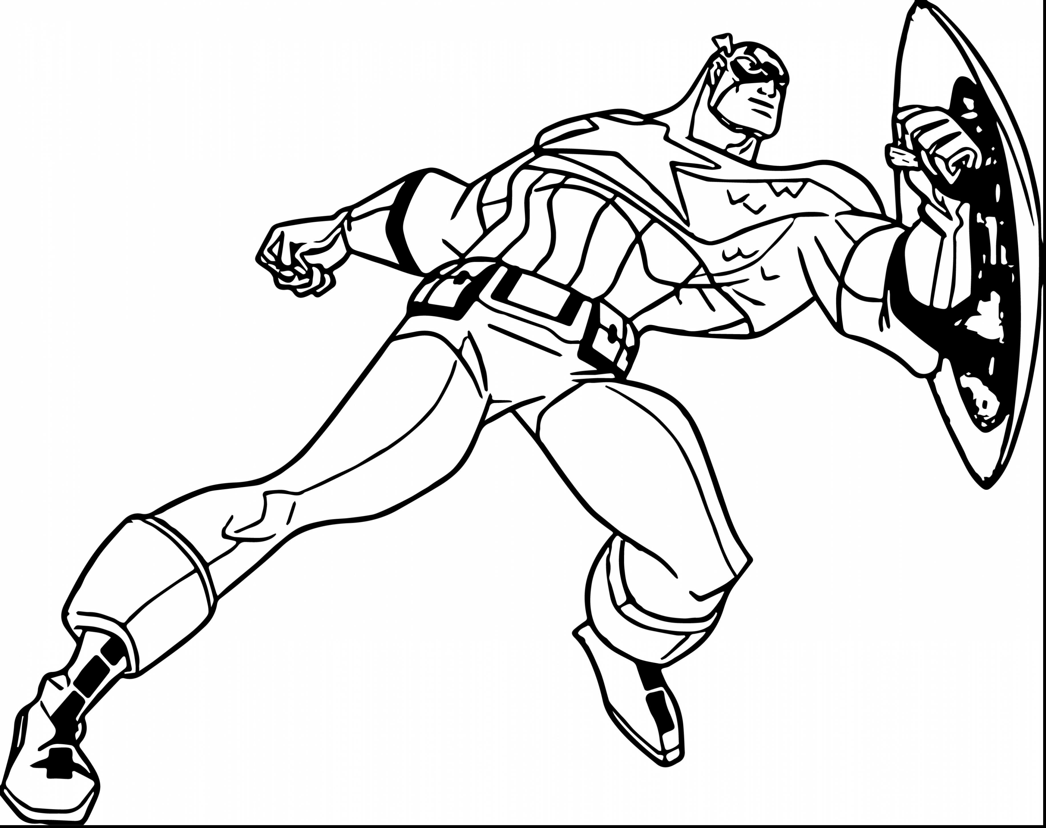 3666x2904 Terrific Drawing Captain America Coloring Page With Captain