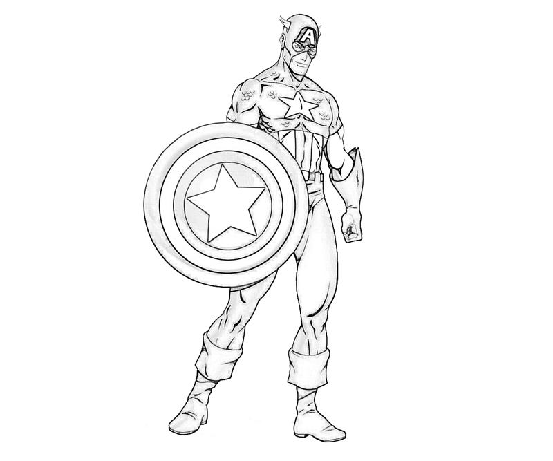 Learn How To Draw Falcon From Captain America Civil War: Captain America Shield Drawing At GetDrawings.com