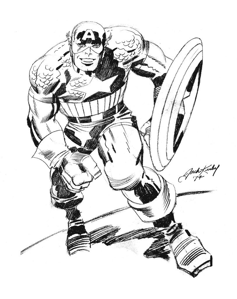 812x1024 Captain America