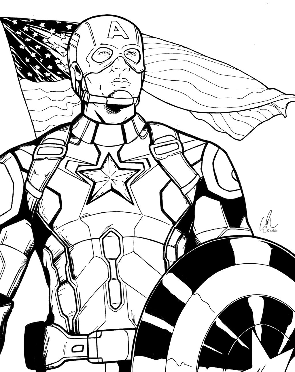 1024x1291 Captain America Age Of Ultron By Shepard137