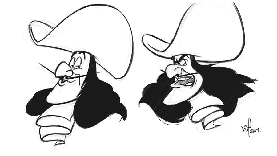 Captain Hook Drawing at GetDrawings.com | Free for personal use ...