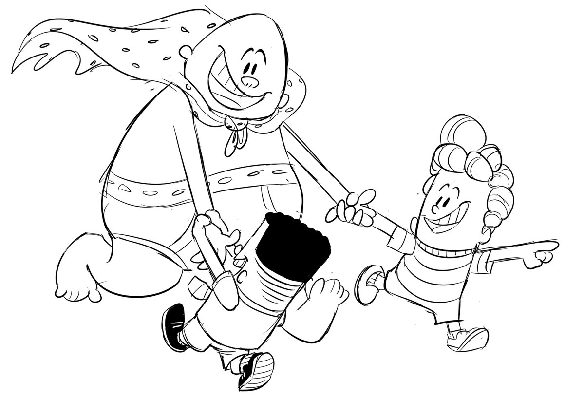 Captain Underpants Drawing
