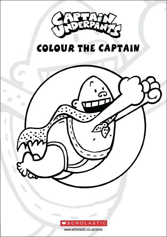 564x798 captain underpants color captain underpants coloring page captain - Captain Underpants Coloring Pages