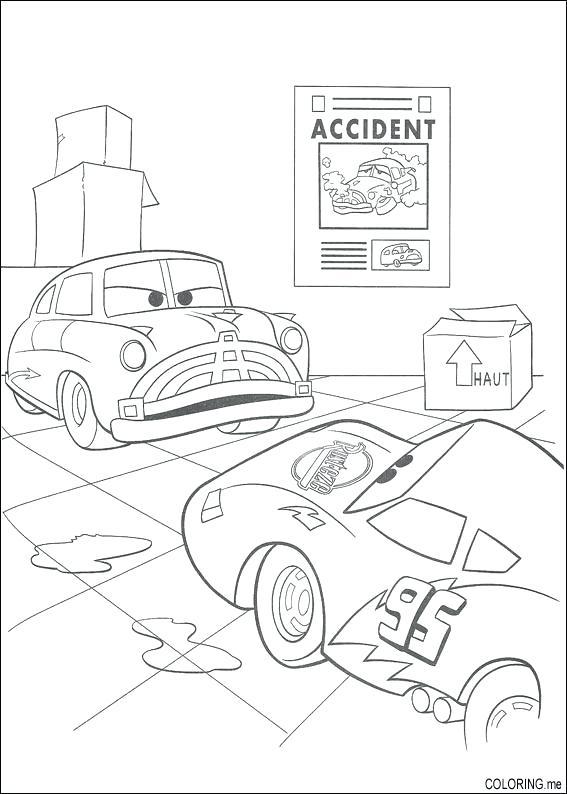 567x794 Car Crash Coloring Pages Printable Race Car Coloring Pages