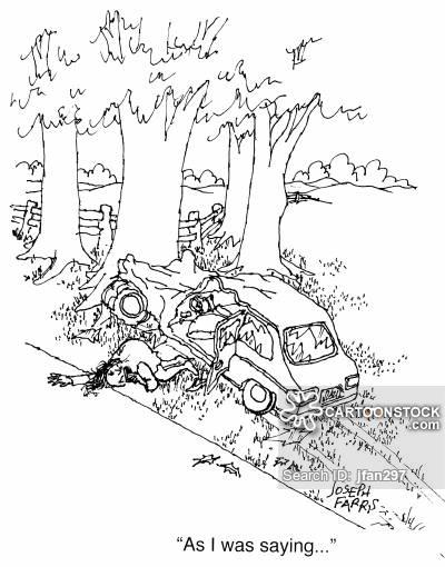 400x510 Traffic Crash Cartoons And Comics
