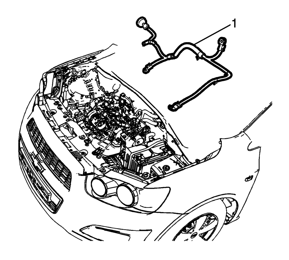 959x864 Chevrolet Sonic Repair Manual Battery Positive And Negative Cable