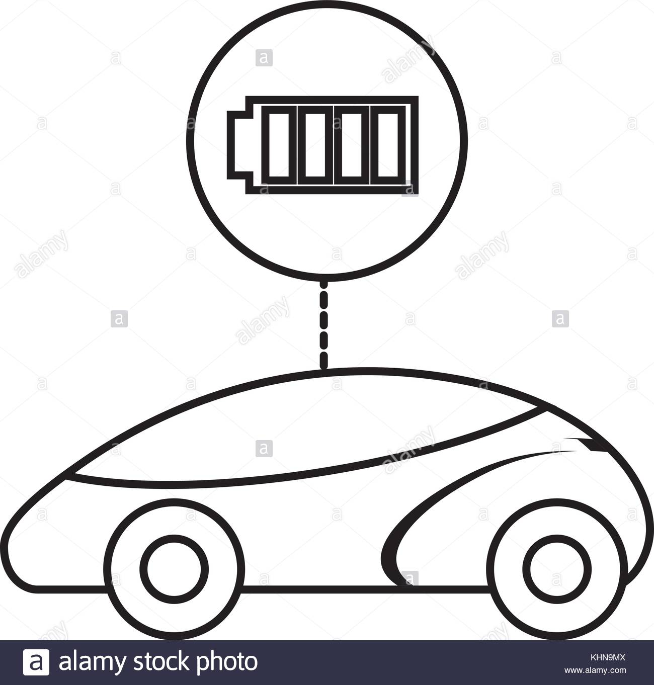 1300x1362 Smart Or Intelligent Car Battery Charger Technology Stock Vector