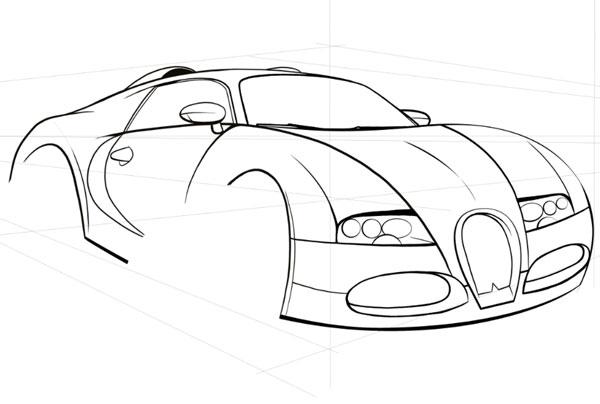 Car Body Drawing At Getdrawings Com