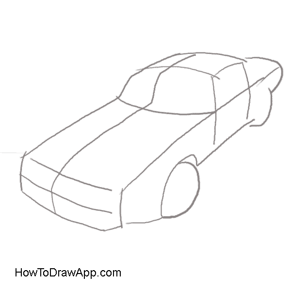600x600 How To Draw A Pontiac Firebird Trans Am In Easy Steps