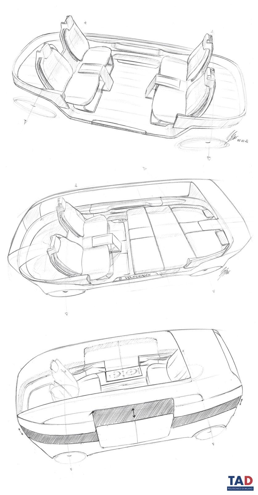 836x1600 Volkswagen Bull.e Design Sketches By Gianluca Bartolini
