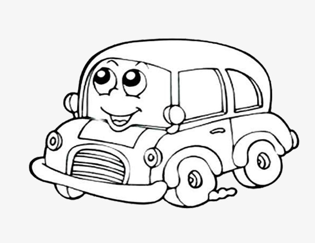 647x500 Cartoon Car, Cartoon, Car, Sketch Png Image For Free Download