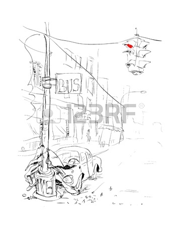 360x450 Car Crash, With Two Cars Front Collide Hit. Vector Illustration