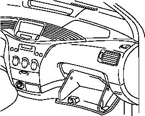 300x239 Automobile Dashboard Clip Art