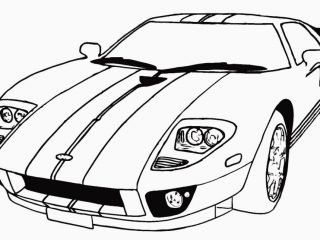 320x240 Cars To Colour In And Print Car Coloring Pages On Car Drawing