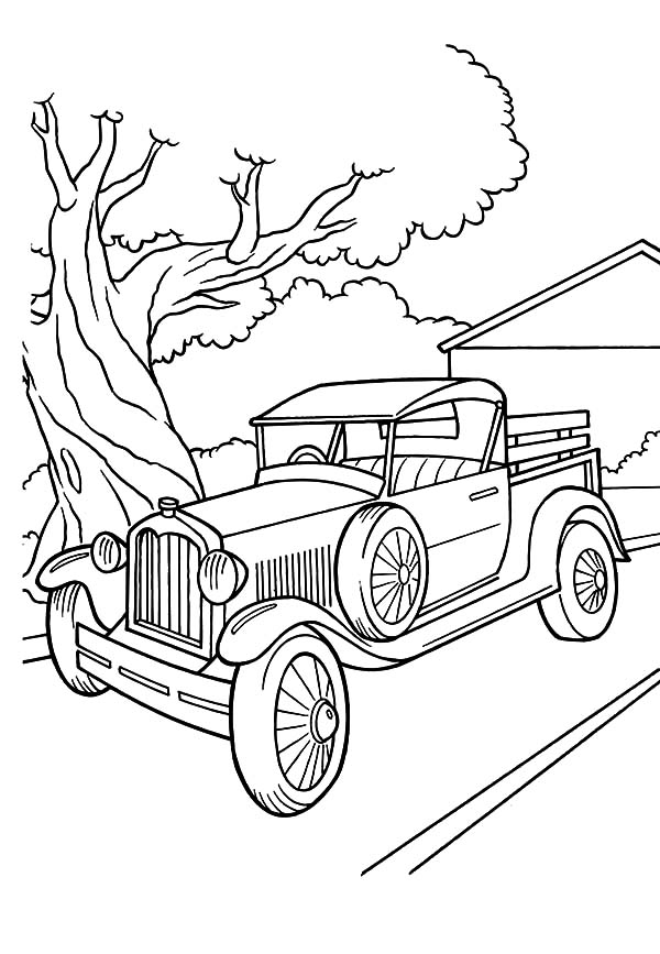 600x867 Drawing Model T Car Coloring Pages Drawing Model T Car Coloring