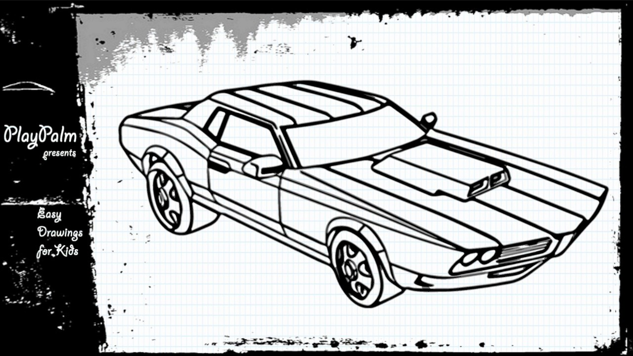 1280x720 How To Draw The Car Of Ben 10