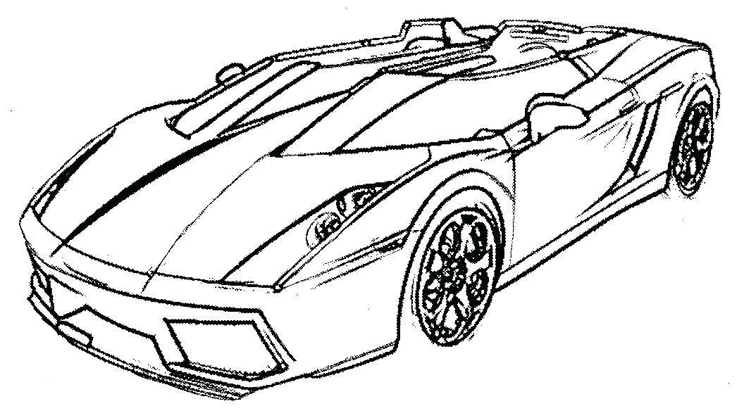 Car Drawing Pdf at GetDrawings.com | Free for personal use Car ...
