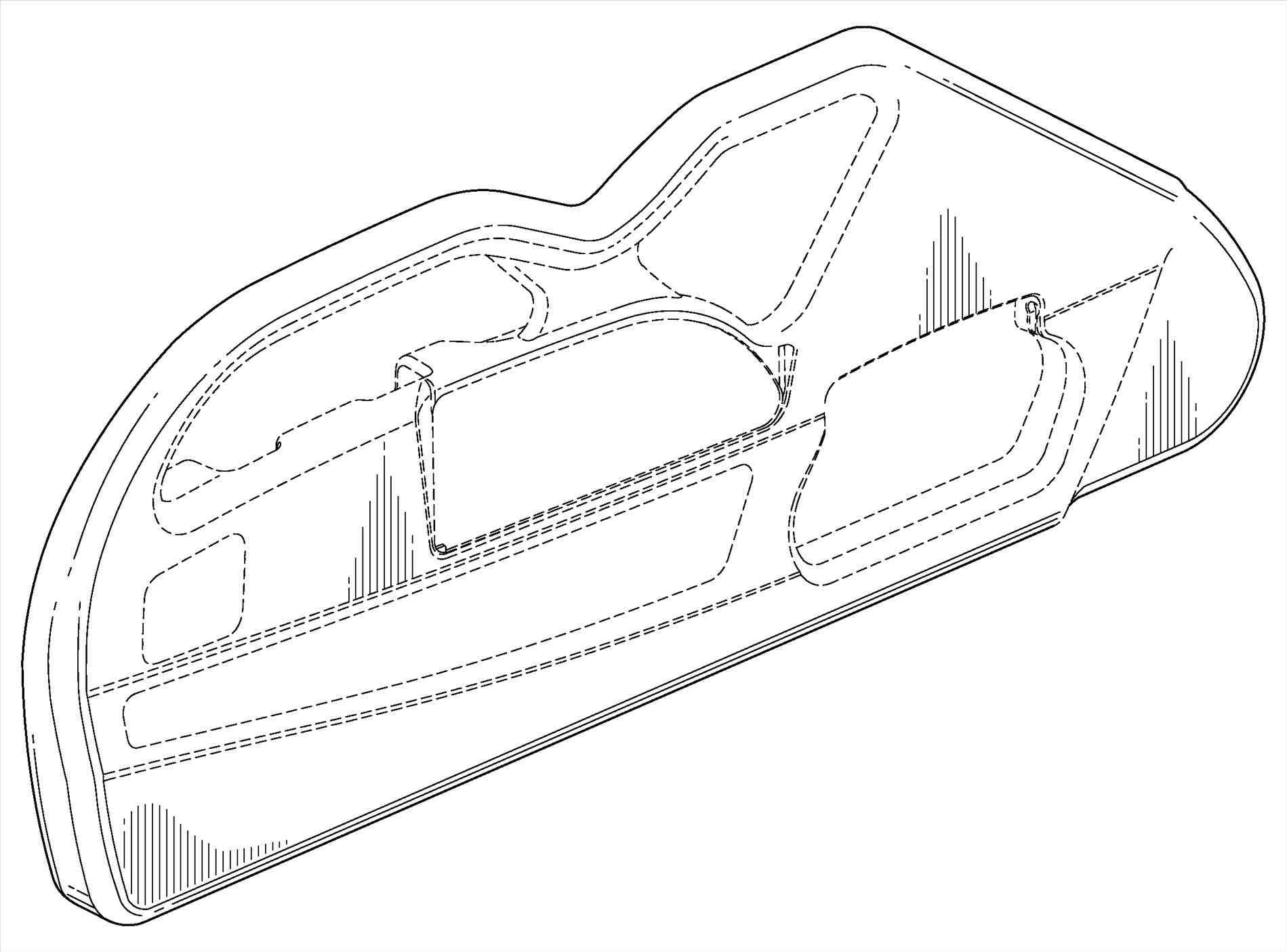 1899x1405 Bed Drawing Side View