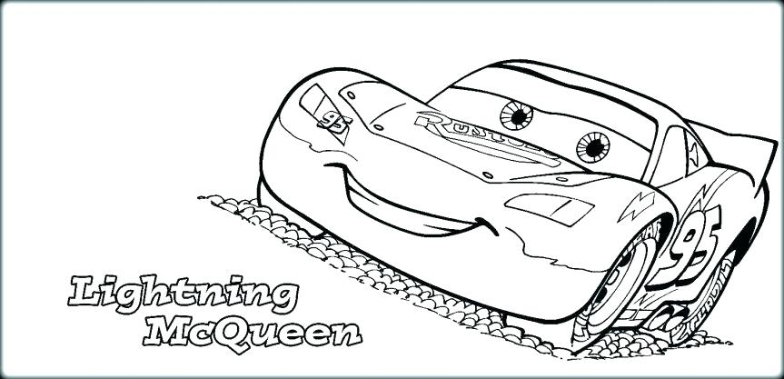 863x417 Lighting Mcqueen Coloring Pages Lightning Coloring Pages Side View