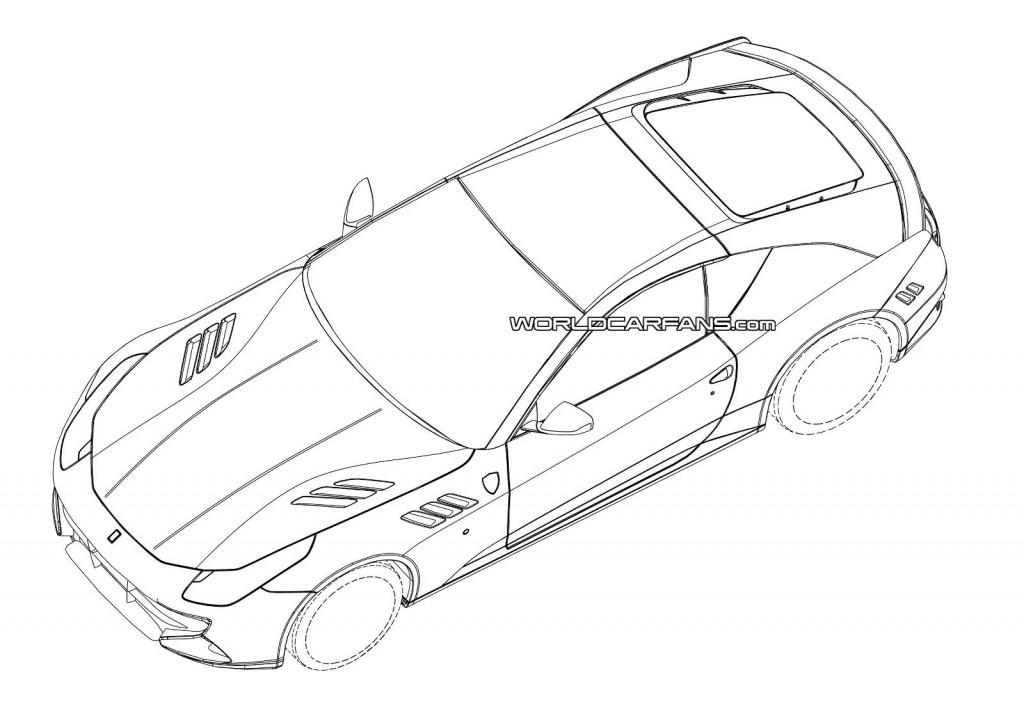 1024x725 2015 Ferrari California Replacement Patent Drawings Leaked