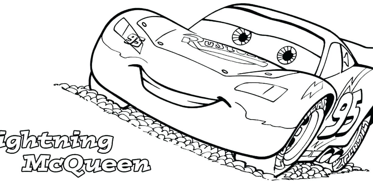 1224x600 Lightening Mcqueen Coloring Pages