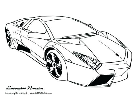 440x330 simple cars coloring pages free print printable race car large