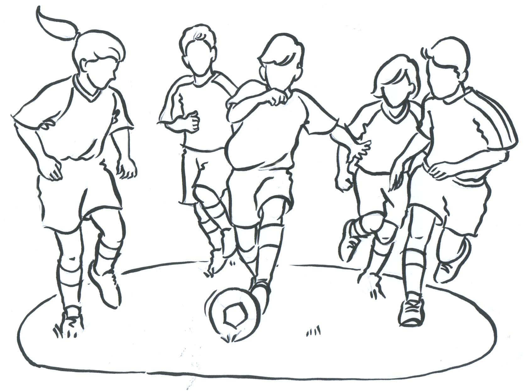 1673x1244 All Sports Drawing Sports Drawings Art