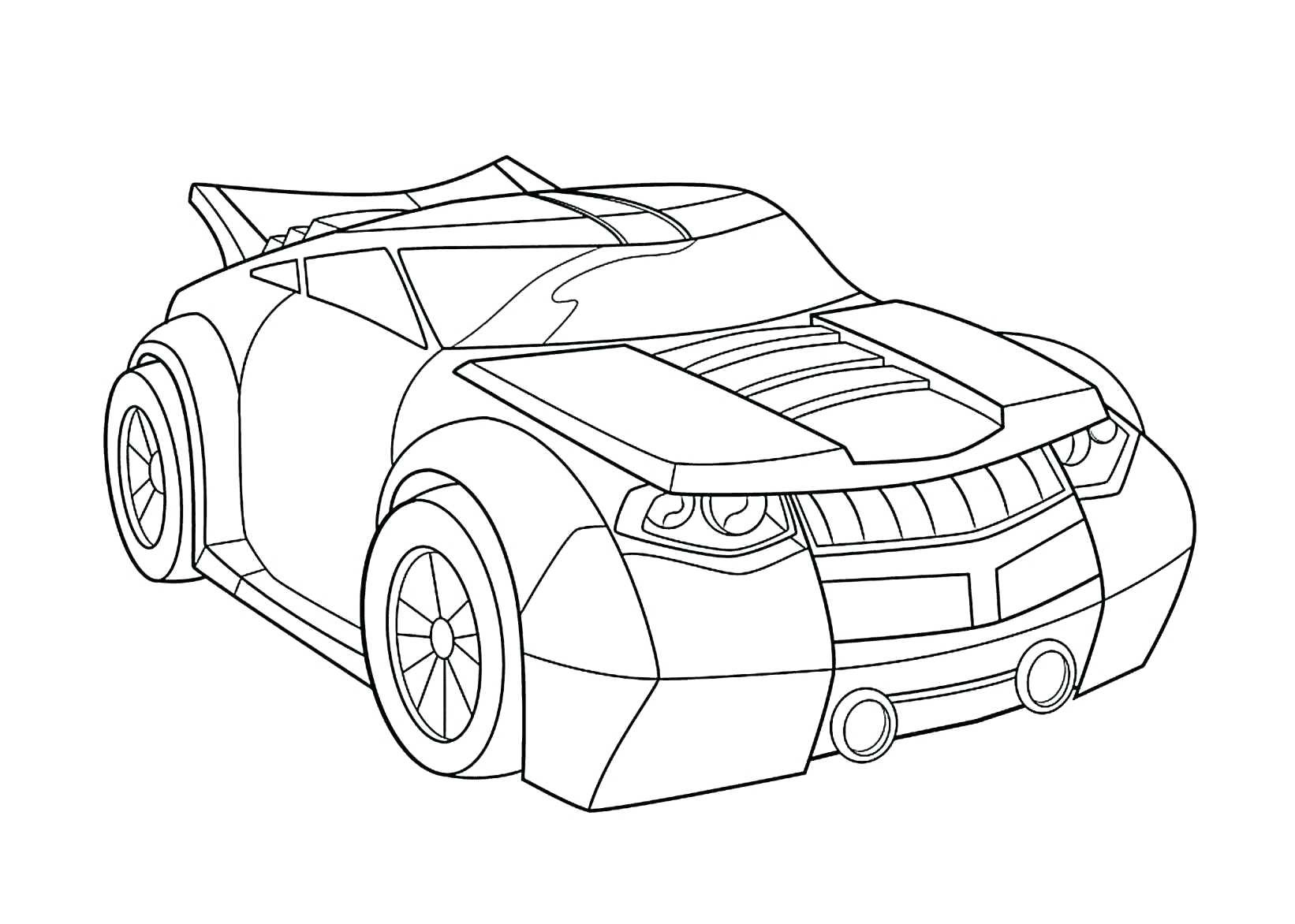 Auto Ausmalbilder Cars : Car Drawing Template At Getdrawings Com Free For Personal Use Car