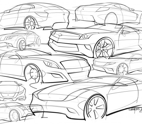480x420 Some Of My Car Sketches From The Last Few Months Scottdesigner