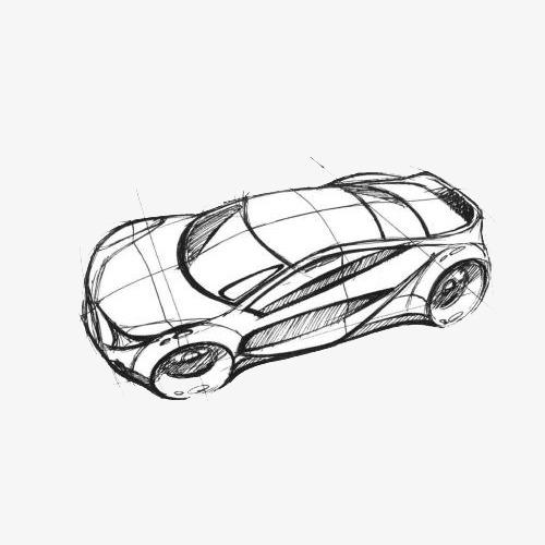 500x500 Sketch, Stroke Style, Car Top Design, Sketch Style, Brief Strokes
