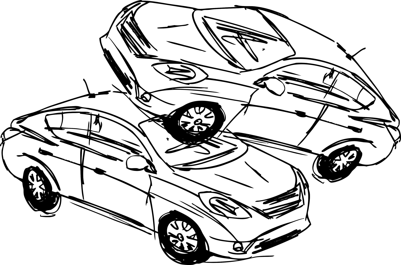 Perfect 2d Car Drawing Festooning - Wiring Standart Installations ...