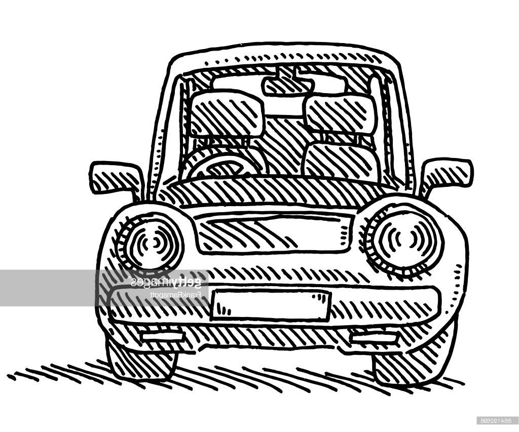 1024x853 Best 15 Pact Car Front View Drawing Vector Images