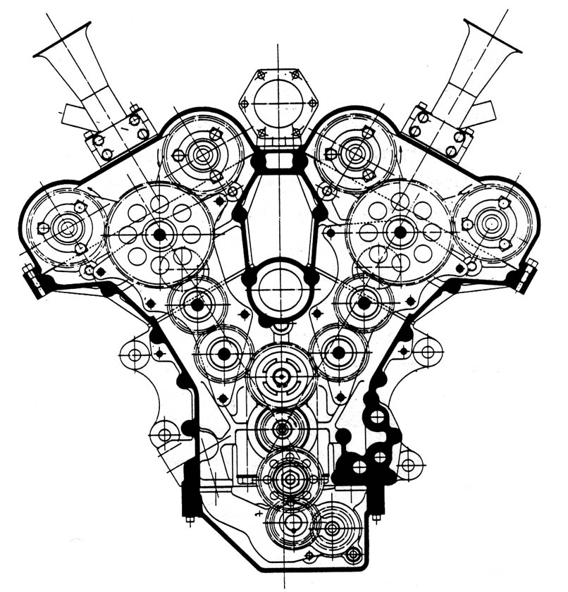Car engine drawing at getdrawings free for personal use car 806x840 jeep engine cutaway malvernweather Image collections