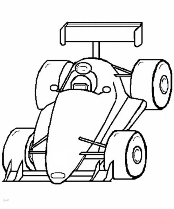 600x720 Race Car, F1 Race Car Front View Coloring Page F1 Race Car Front