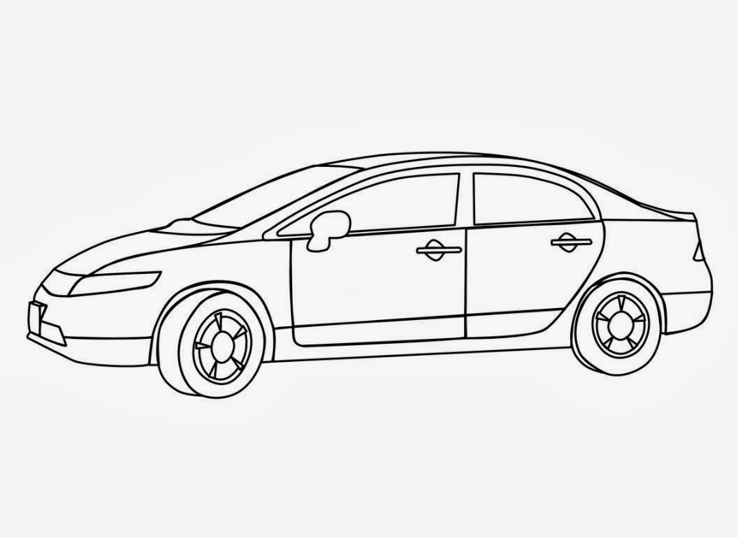 1056x770 Colour Drawing Free Hd Wallpapers Car For Kid Coloring Page Free