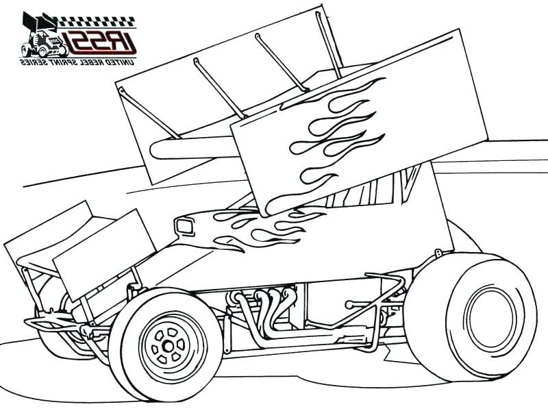 800x600 Epic Sprint Car Coloring Pages Fee Drawing Template Free Pictures
