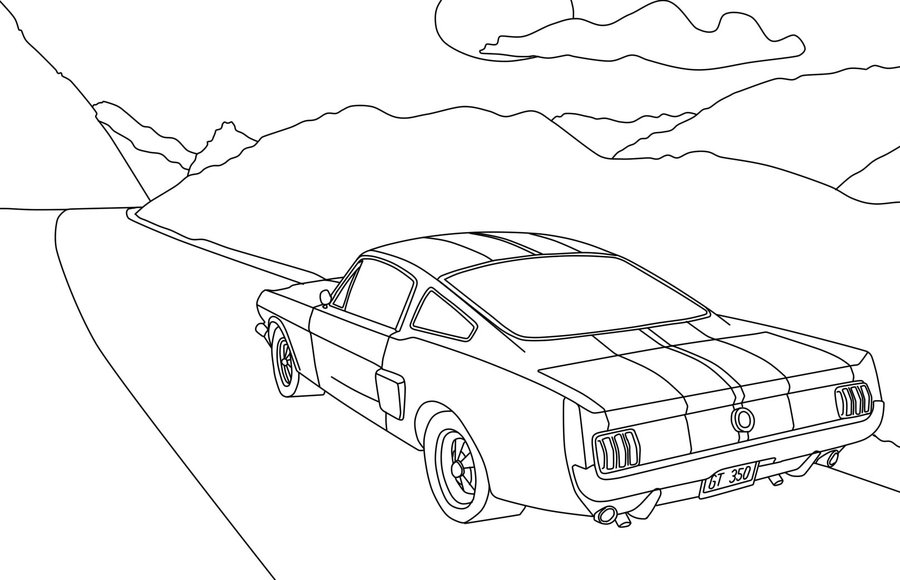 900x580 Car Sketch Wip By Gamistth