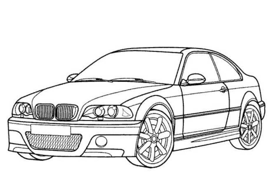 941x585 Car Pictures To Color Printable Coloring Pages For Kids