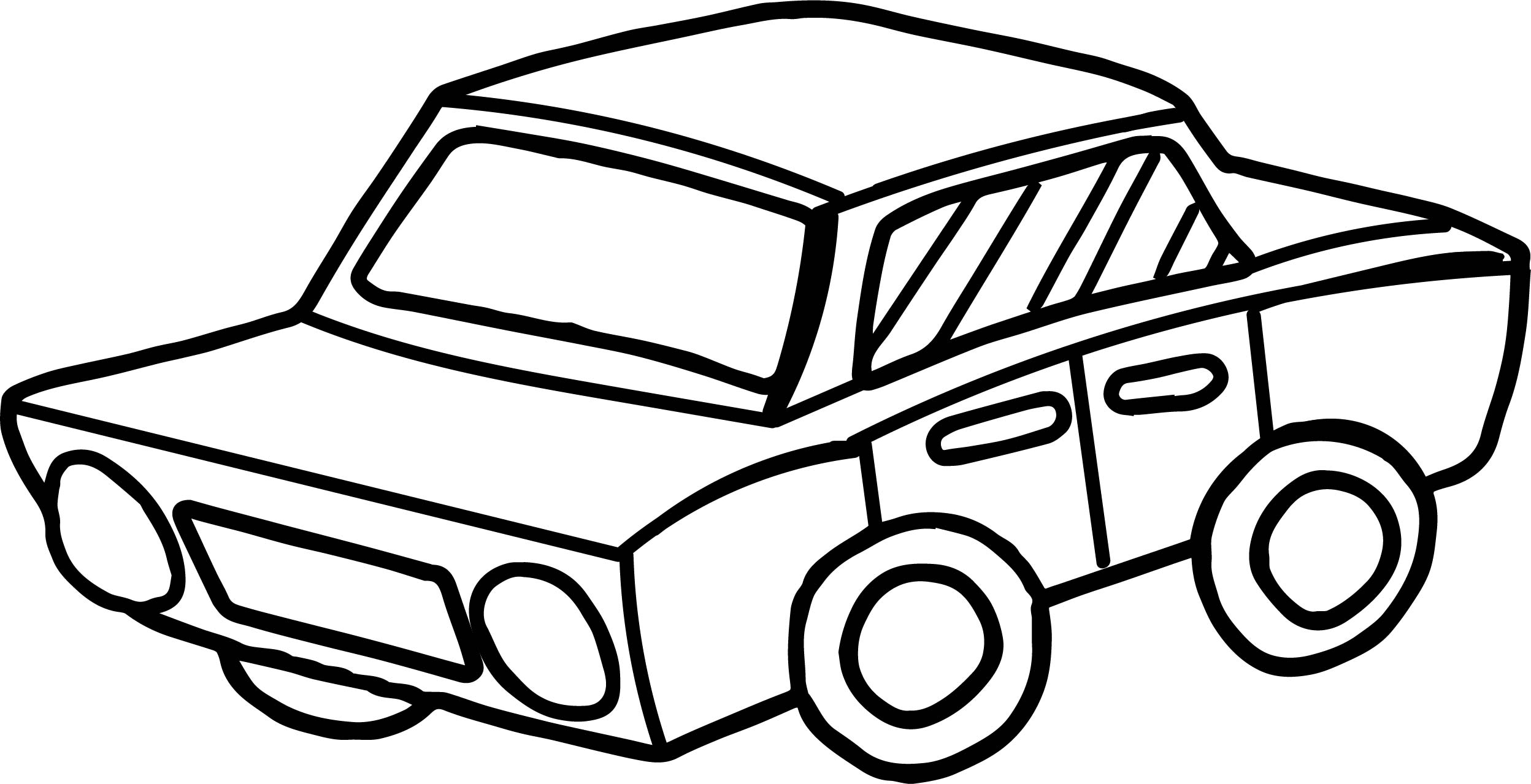 2496x1279 Toy Car Perspective Coloring Page Wecoloringpage
