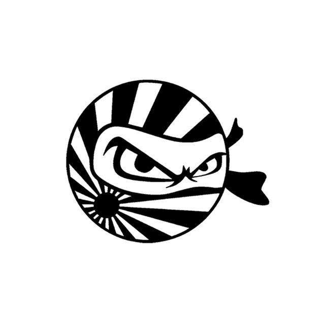 640x640 Jdm Ninja Japan Flag Vinyl Sticker Decal Drift Logo Computer