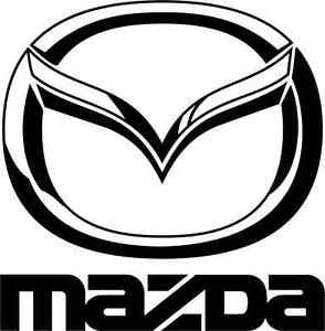 294x300 Mazda Logo Car Bumper Sticker 5 X 5 Ebay